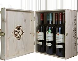 TREBBIA 2 Wood Box