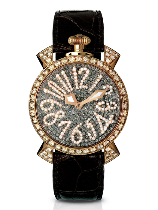 Manuale 40MM GOLD DIAMONDS - GR49BN LADY