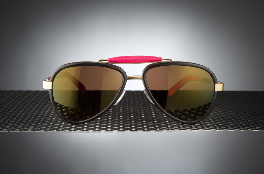 Sunglasses Titanium / Carbon fibre - LU54TCGOFXF