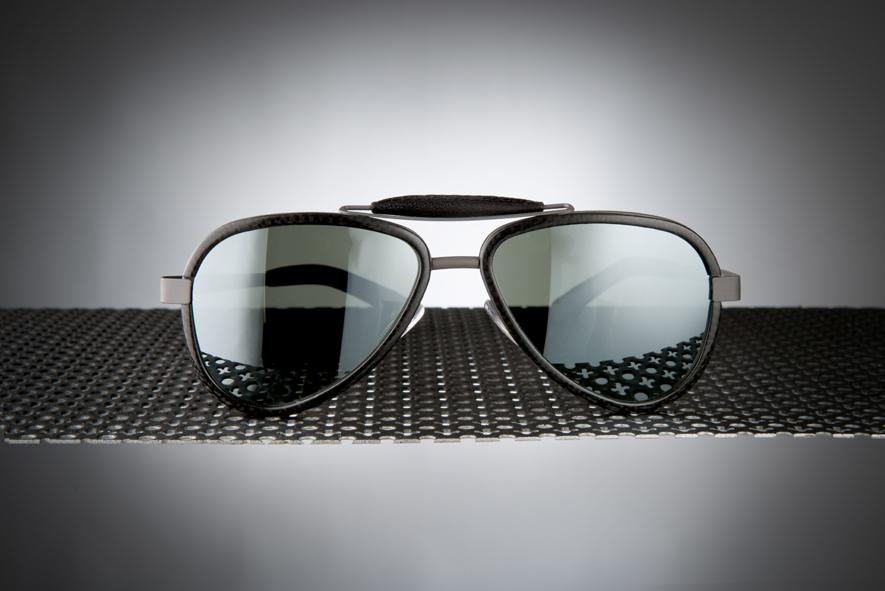 Sunglasses Titanium / Carbon fibre - LU54TCGYBKN