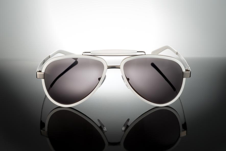 Sunglasses Titanium / Acetate - LU54ACWH000