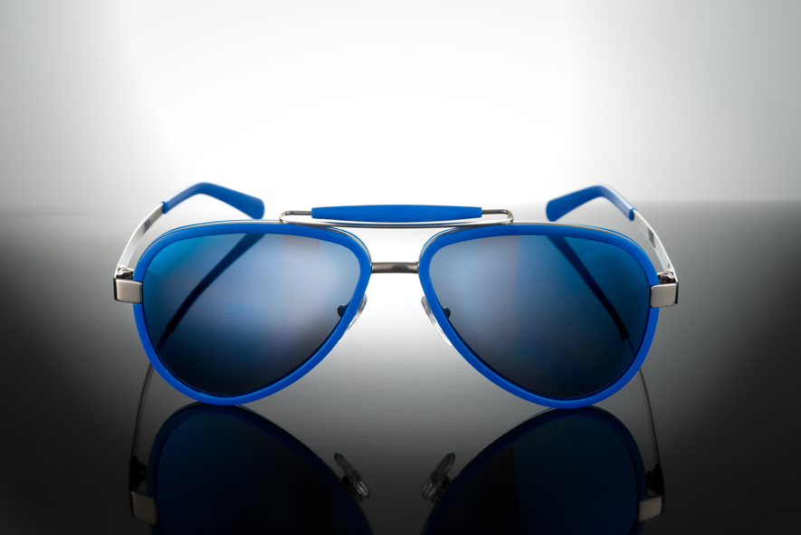 Sunglasses Titanium / Acetate - LU54ACBL000