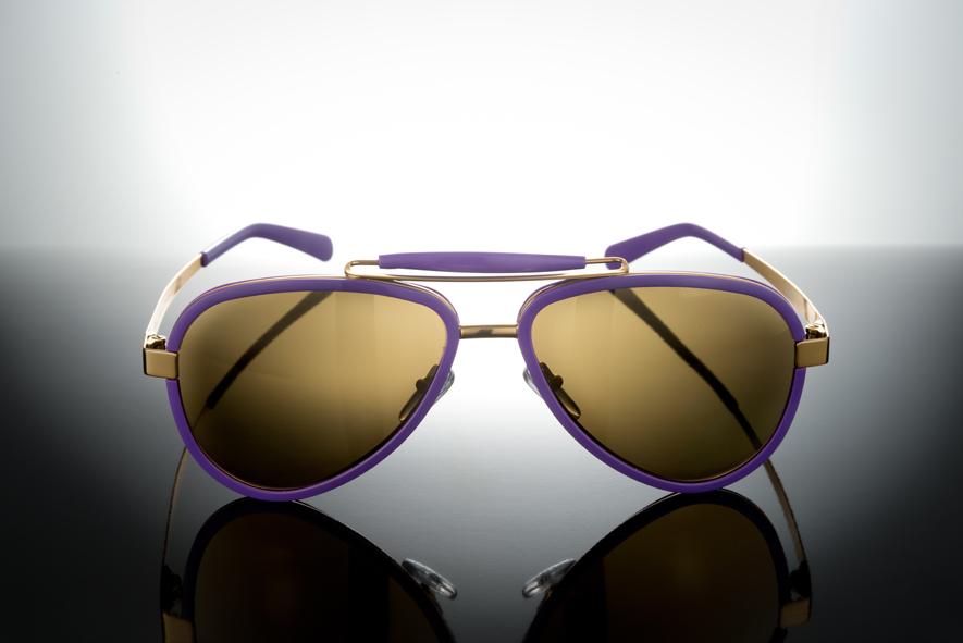 Sunglasses Titanium / Acetate - LU54ACVTGO0