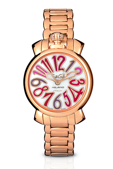 Manuale 35MM Rose gold plated - 6021.3