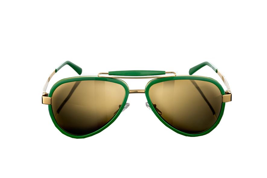 Sunglasses Titanium / Acetate - LU54ACGRGO0