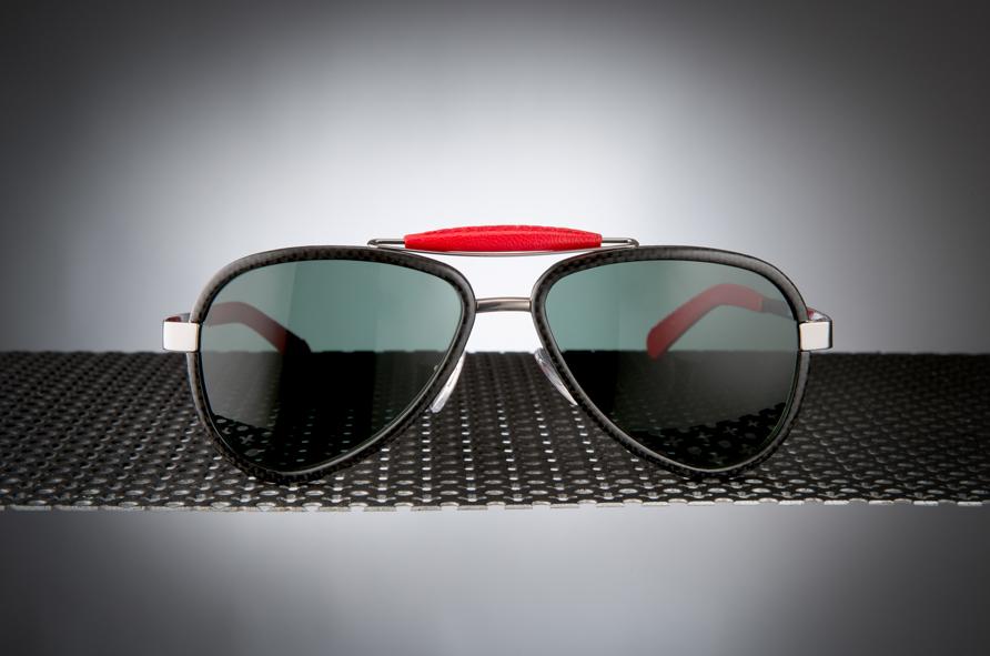 Sunglasses Titanium / Carbon fibre - LU54TCSHRDN