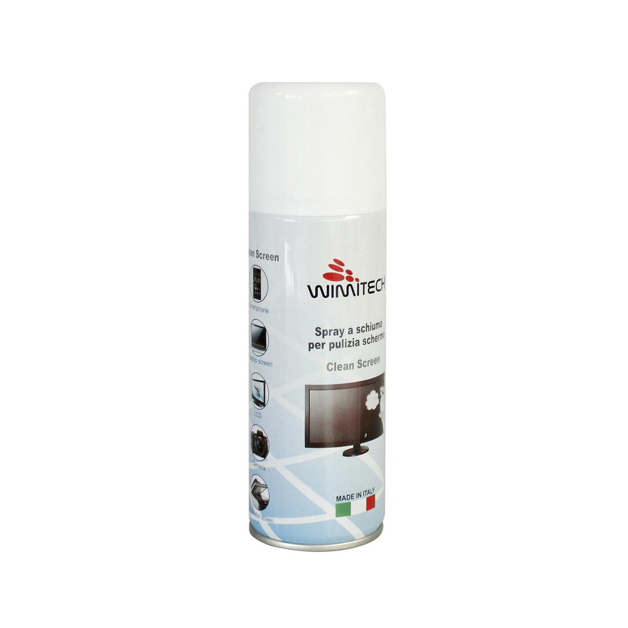 Spray a schiuma per pulizia schermo 200 ml_1