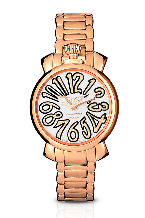 Manuale 35MM Rose gold plated - 6021.1