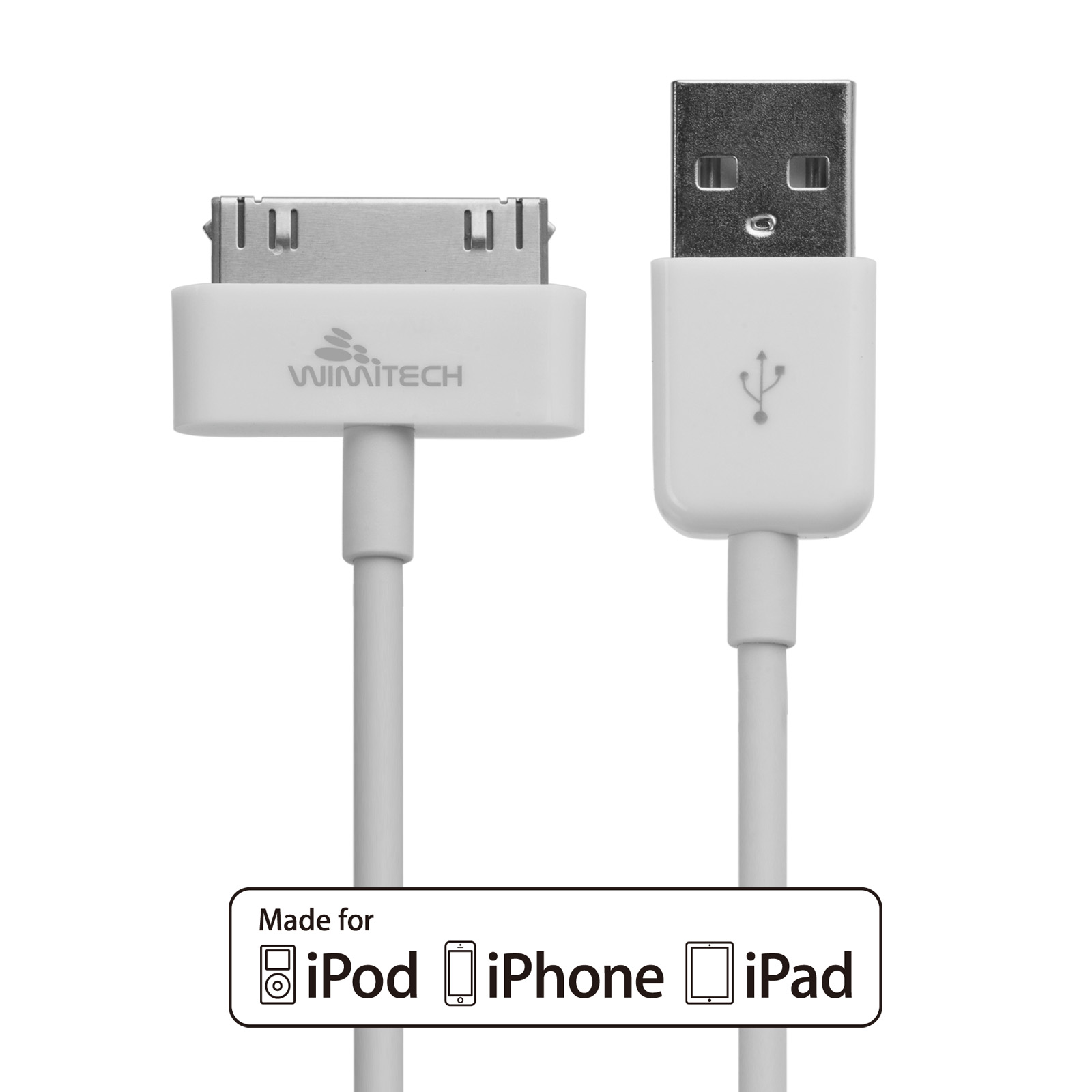 Cavo USB per iPhone 4, 4S , iPad 2 e iPod