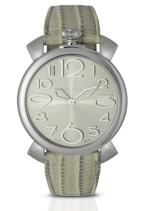 Manuale Thin 46mm stainless steel - 5090.08