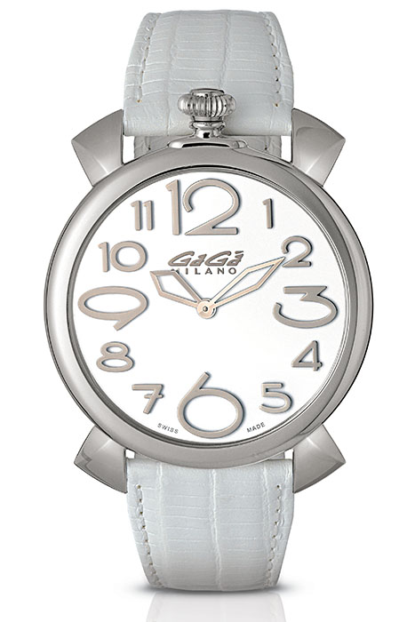 Manuale Thin 46mm stainless steel - 5090.15