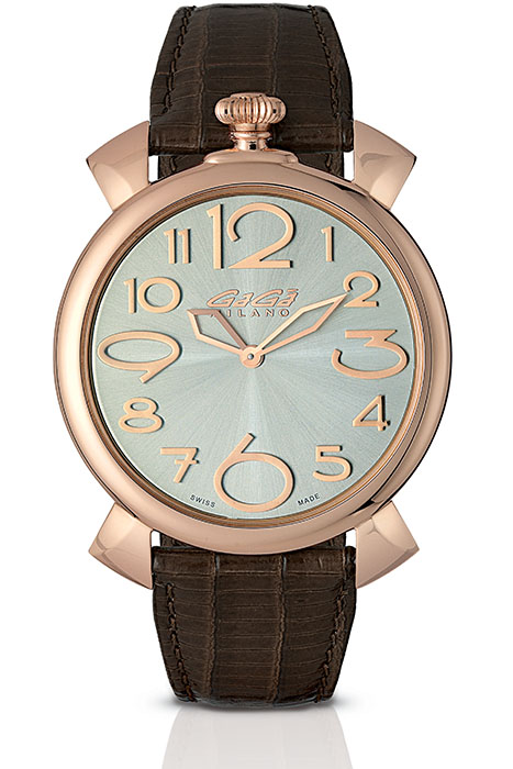 Manuale Thin 46mm rose gold plated - 5091.04