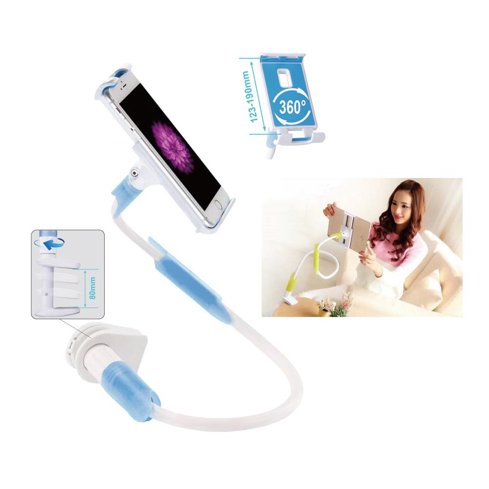 Supporto Universale a braccio lungo flessibile per Tablet e Smartphone