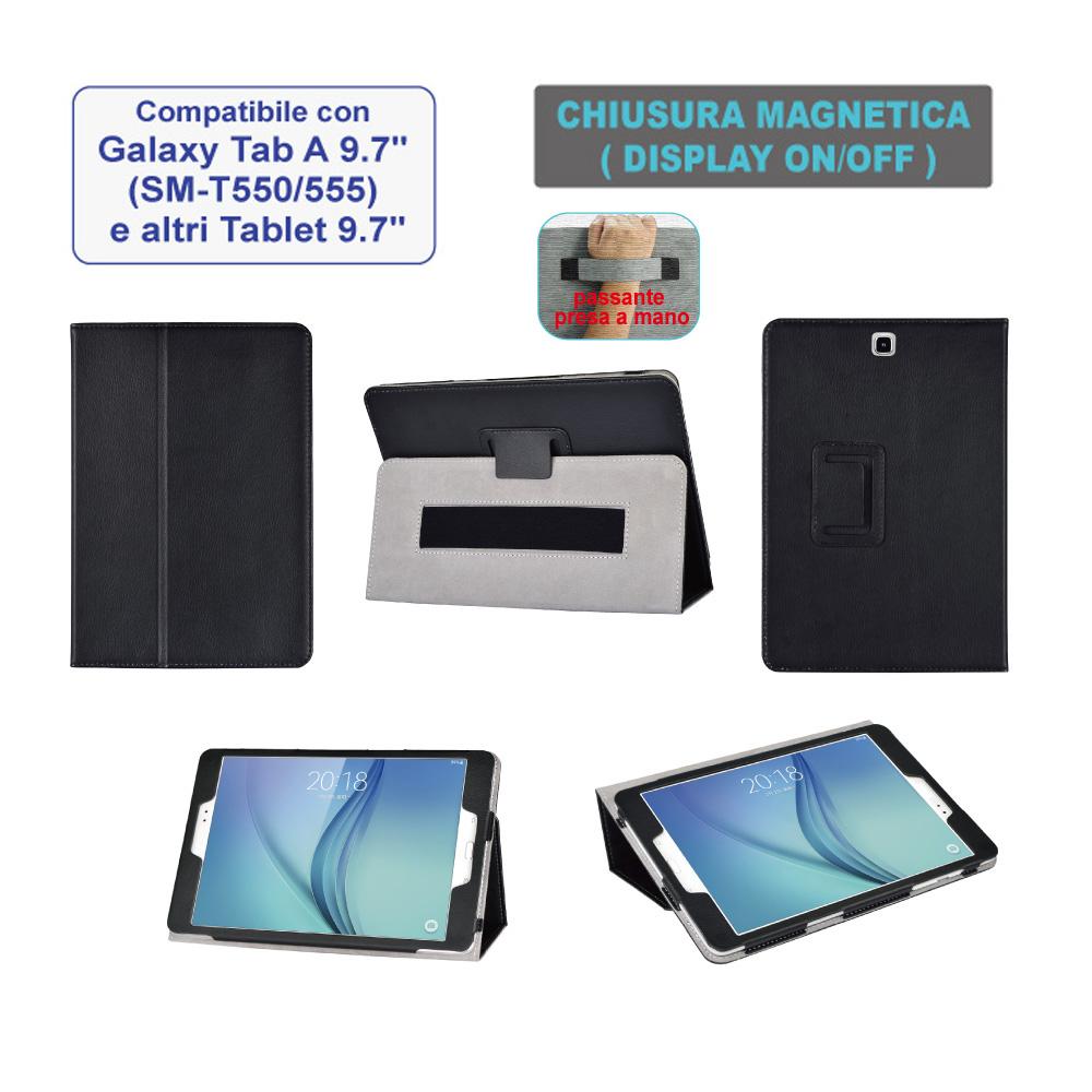 """Custodia magnetica per Samsung Galaxy Tab A 9.7"""""""