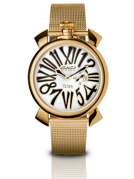Slim 46MM Gold Plated - 5083 LE IB 02