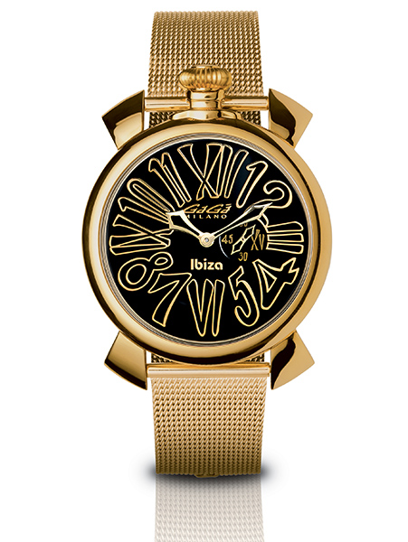 Slim 46MM Gold Plated - 5083 LE IB 01