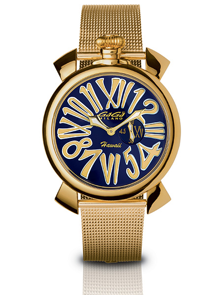 Slim 46MM Gold Plated - 5083 LE HA 01